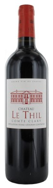 Graves red 2013, Pessac leognan red 2013, Chateau Le Thil Comte Clary 2013