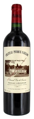 Graves red 2013, Pessac leognan red 2013, Chateau Picque Caillou 2013