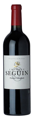 Graves red 2013, Pessac leognan red 2013, Chateau Seguin 2013