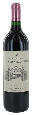 Graves red 2013, Pessac leognan red 2013, La Chapelle de la Mission Chateau La Mission Haut Brion 2013