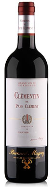 Graves red 2013, Pessac leognan red 2013, Le Clementin du Pape Clement Chateau Pape Clement rouge 2013