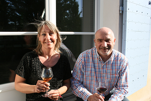 Philippe and Sandrine Gayral