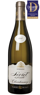 DWWA 14 International Trophy, Albert Bichot Secret de Famille Chardonnay Burgundy 2012
