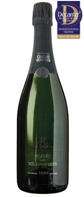 DWWA 14 International Trophy, Charles Heidsieck Blanc des Millénaires Brut France Champagne
