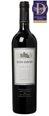 DWWA 14 International Trophy, El Esteco Don David Reserve Tanna Argentina 2012