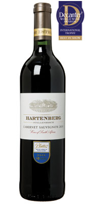DWWA 14 International Trophy, Hartenberg Cabernet Sauvignon South Africa 2010