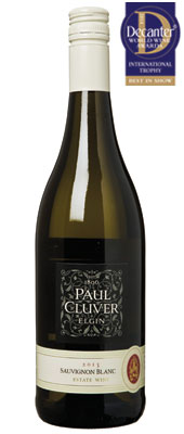 DWWA 14 International Trophy, Paul Cluver Estate Sauvignon Blanc South Africa 2013