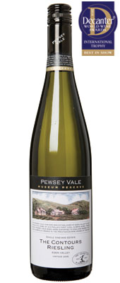 DWWA 14 International Trophy, Pewsey Vale The Contours Museum Reserve Riesling Australia