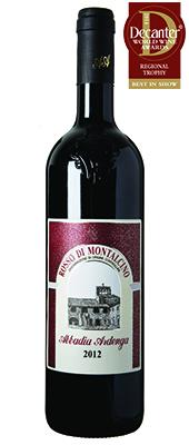 Abbadia Ardenga Italy Tuscany Rosso di Montalcino 2012