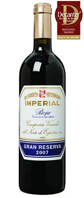 C.V.N.E Imperial Spain  Rioja Gran Reserva La Rioja 2007