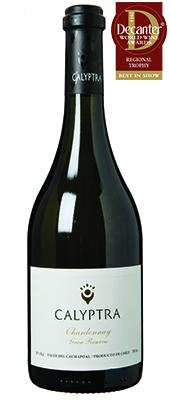 Calyptra Chardonnay Gran Reserva Chile Cachapoal Alto Cachap