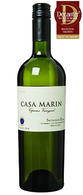 Casa Marin Cipreses Vineyard Sauvignon Blanc Chile 2013