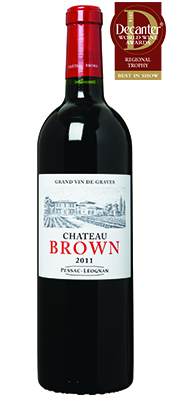 Château Brown France Bordeaux Pessac-Léognan 2011