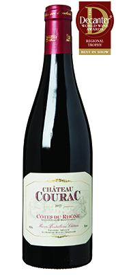Château Courac France Rhône Côtes du Rhône 2012