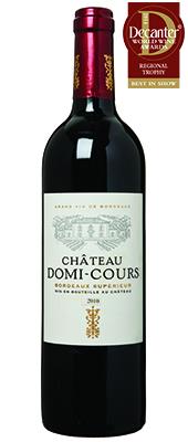 Château Domi-Cours France Bordeaux Supérieur 2010