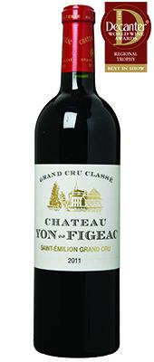 Château Yon-Figeac Bordeaux 2011