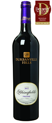 Durbanville Hills Rhinofields Pinotage South Africa 2012.
