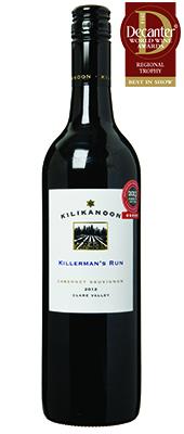 Kilikanoon Killerman's Run Cabernet Sauvignon Australia 2012
