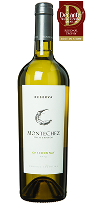 Montechez Reserva Chardonnay Argentina Mendoza 2013