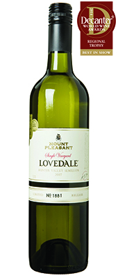 Mount Pleasant Lovedale Semillon Australia 2007