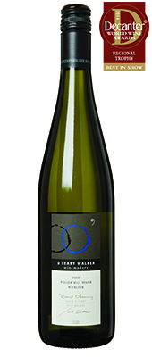 O'Leary Walker Polish Hill River Riesling Australia 2008