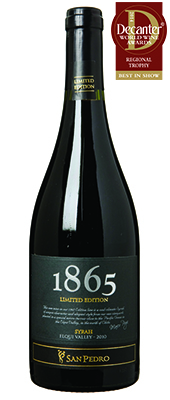 San Pedro 1865 Limited Edition Syrah Chile Elqui Valley