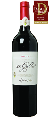 Spier 21 Gables Pinotage South Africa  2011
