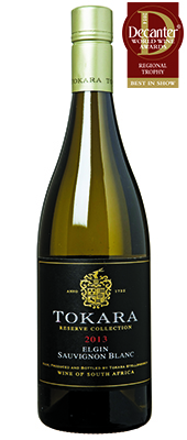 Tokara Reserve Collection Sauvignon Blanc South Africa 2013