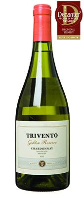 Trivento Golden Reserve Chardonnay Argentina Mendoza Uco Valley