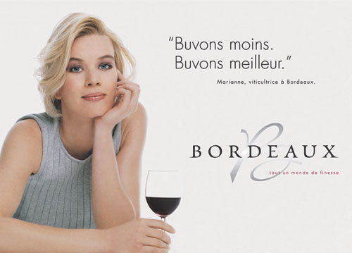 Andrew Jefford 2005 CIVB advertising campaign for Bordeaux wines