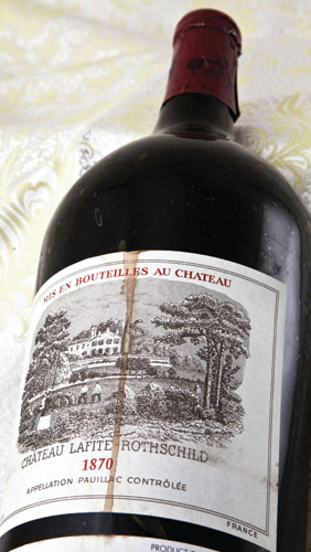 Michael Broadbent Bordeaux Chateau Lafite 1870