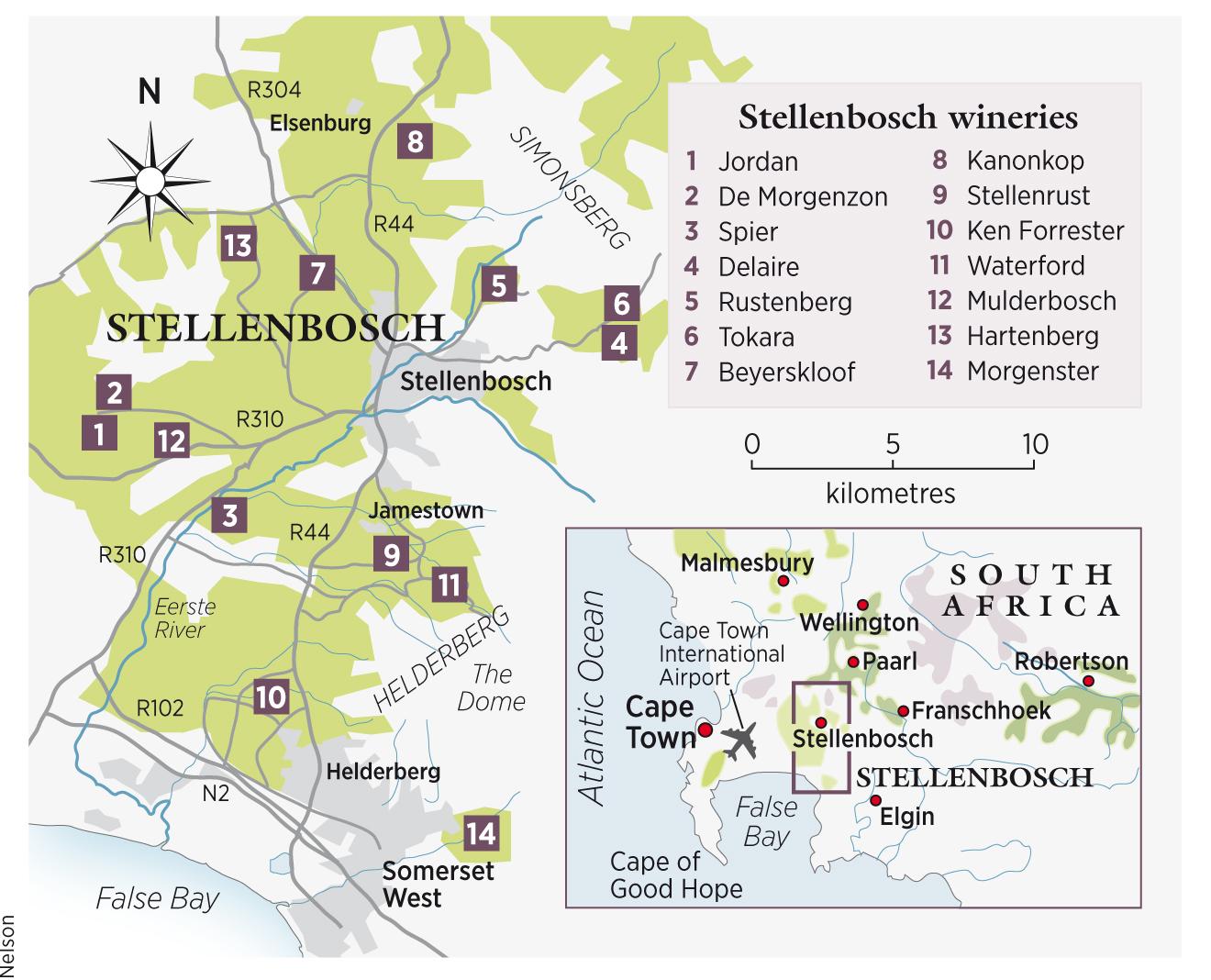 Decanter travel guide Stellenbosch South Africa Decanter