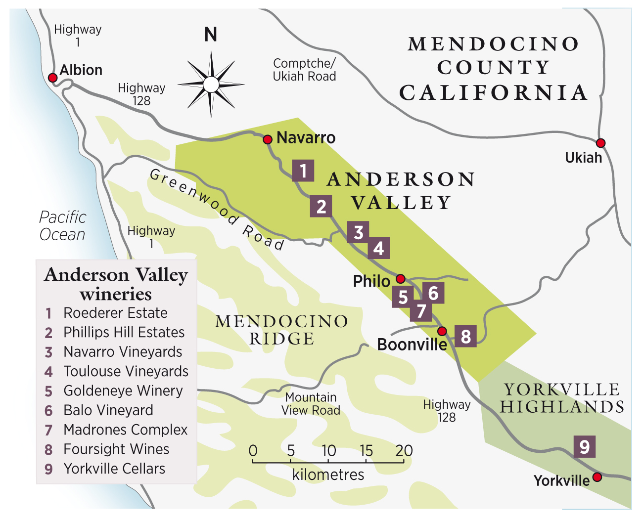 Anderson Valley travel guide - Decanter on california lodi central valley, california regions, california recreation map, california bank map, active volcanoes in california map, santa cruz wineries map, california food map, paso robles street map, california map napa wineries, escondido wineries map, foothills california wineries map, california theater map, california hiking map, california vinyard, california wine, california cemetery map, california farm map, southern az wineries map, southern california wineries map,