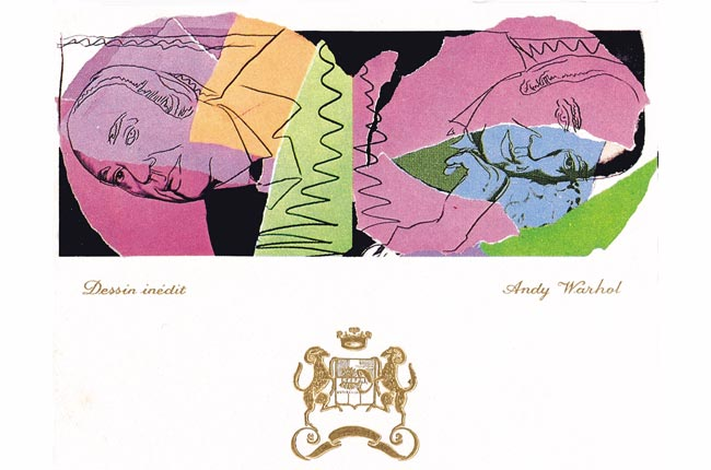 Mouton Rothschild labels