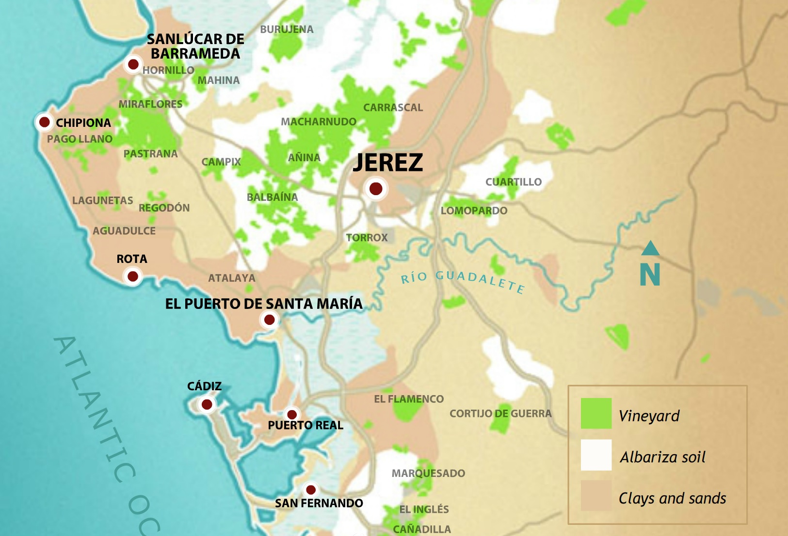 Map Of Spain Vineyards.Sherry Vineyards Deserve More Focus Says Do President Domecq Decanter