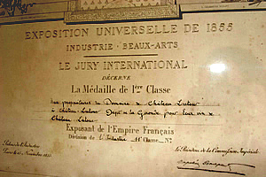 Bordeaux Wine Official Classification of 1855 #