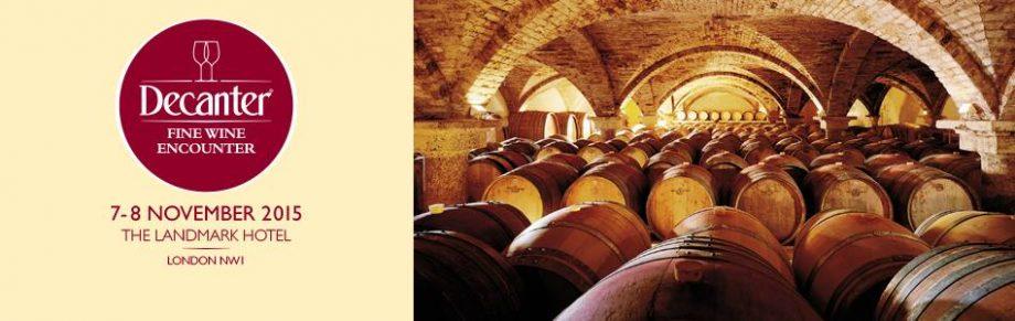 Decanter Fine Wine Encounter