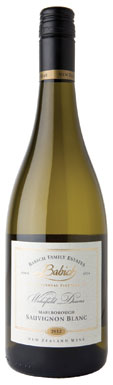 New Zealand Sauvignon Blanc, Babich Individual Vineyard Wakefield Downs Awatere Valley.