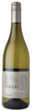 New Zealand Sauvignon Blanc, Te Awa Left Field Hawkes Bay 2012