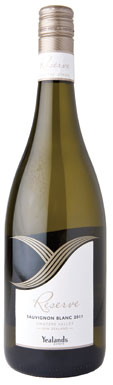 New Zealand Sauvignon Blanc, Yealands Reserve Awatere Valley Marlborough 2011