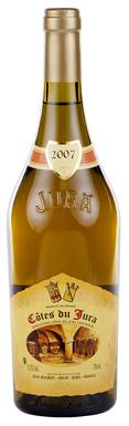Jura wine, Caves Jean Bourdy Côtes du Jura 2007