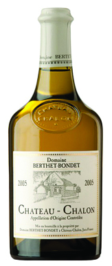 Jura wine, Domaine Berthet-Bondet Château-Chalon 2005