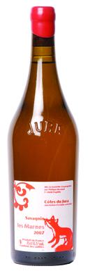 Jura wine, Philippe Bornard Les Marnes Savagnin Côtes du Jura 2007