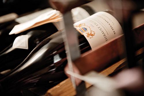 Burgundy, Burgundy cellar