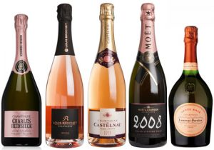 Top rated rosé Champagne