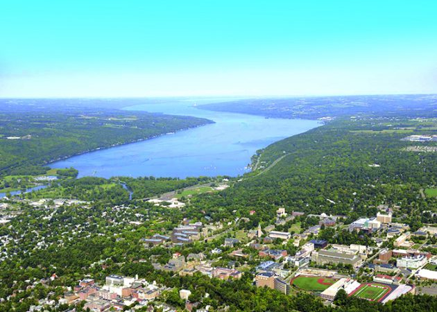 Ithaca, Cornell University, Finger Lakes