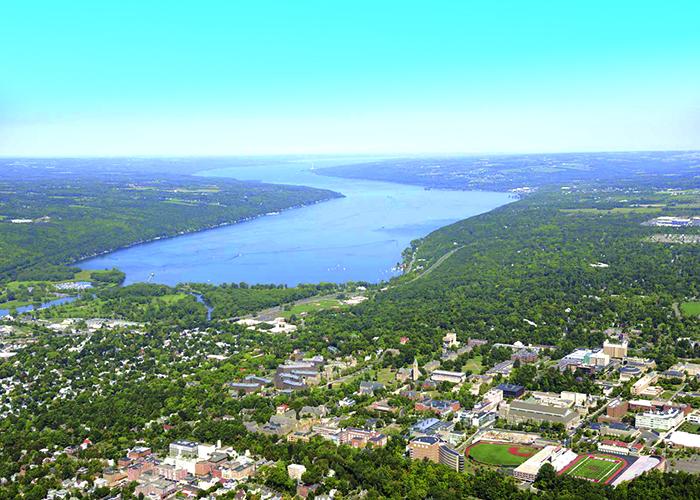 Ithaca, Cornell University, Finger Lakes