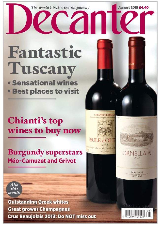 Decanter August 2015