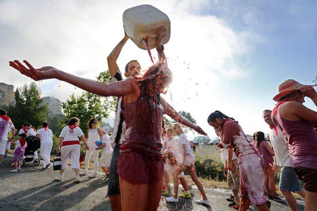 Wine festivals, La Batalla del Vino, Rioja