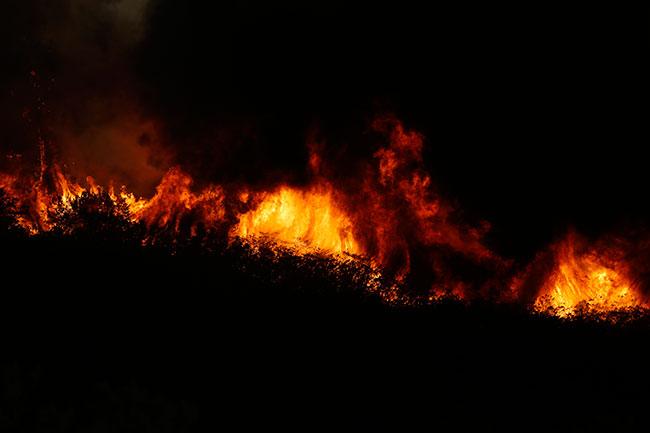 Jerusalem fire, California fires,